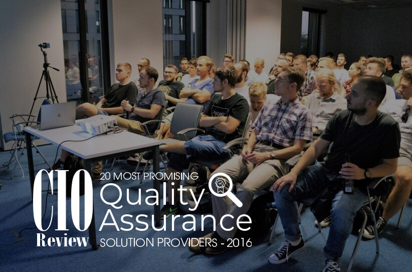We are at 20 Most Promising Quality Assurance Solution Providers 2016