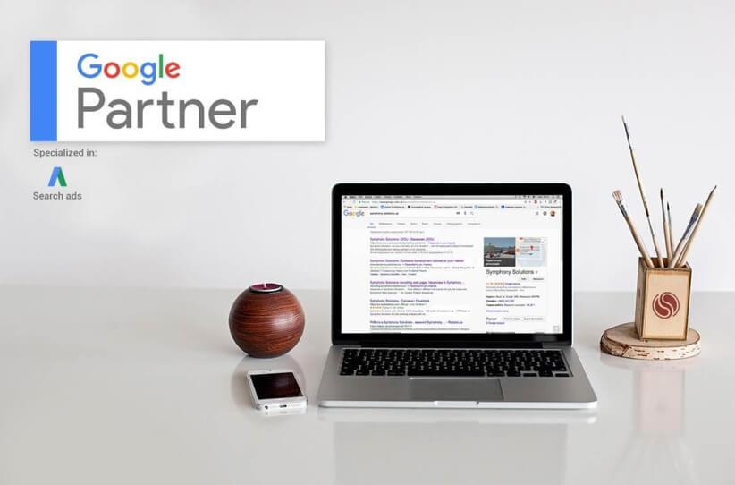 Symphony Solutions became a Google Partner