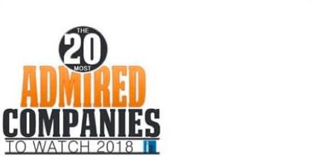 20 Most Admired Companies to Watch 2018