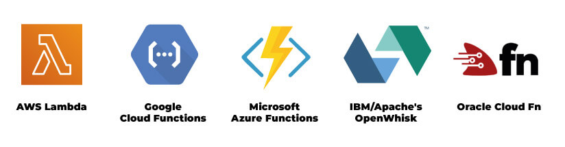 Serverless architecture top providers