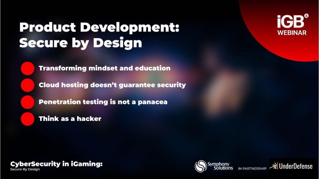 secure product development process